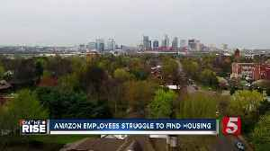 Amazon employees struggle to find housing [Video]