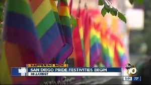 San Diego Pride weekend festivities begin [Video]