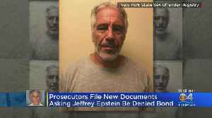 Jeffrey Epstein Accused Of Witness Tampering; Prosecutors Want Him Held Without Bond [Video]