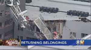 Dallas Apartment Complex Hit By Crane Has New Plan For Residents To Recover Belongings [Video]