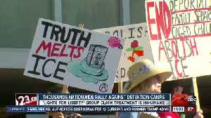 'Lights for liberty' rallies across the nation and in Bakersfield [Video]