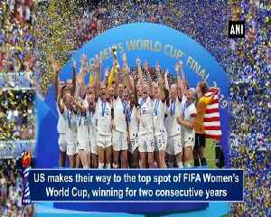 FIFA Women's rankings USA consolidate their lead at top spot [Video]