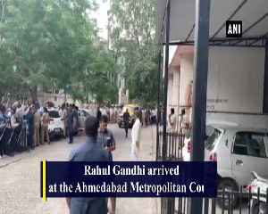 Rahul Gandhi appears before Ahemdabad court over defamation case by District Cooperative Bank [Video]