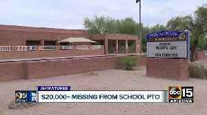 PHX: Police investigating missing money from elementary PTO [Video]