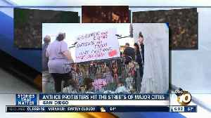 News video: Anti-ICE protesters hit streets of major cities
