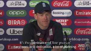 News video: World Cup final: Eoin Morgan determined to seize 'huge opportunity' for England