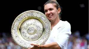News video: Wimbledon Rookie Simona Halep Destroys Serena William In Straight Sets