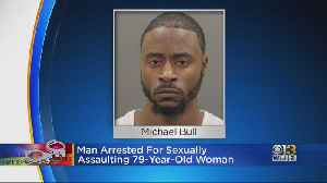 Man Arrested For Allegedly Sexually Assaulting 79-Year-Old Woman In Canton [Video]