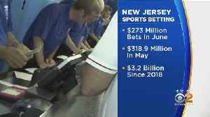 Sports Betting Soars In New Jersey [Video]