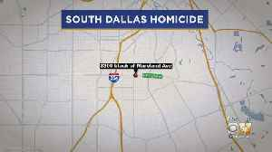 Dallas Police Searching For Murder Suspect After Woman Found Dead Inside Car [Video]