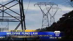 Governor signs wildfire utility bill [Video]