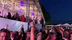 UK PM Theresa May dances the night away at Henley Festival [Video]