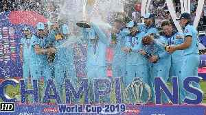 World Cup 2019 England win maiden WC after dramatic Super Over [Video]