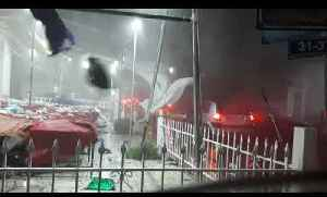 Crazy Storm in Greece Makes Huge Mess [Video]