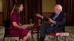Sit-down with Sanders. [Video]