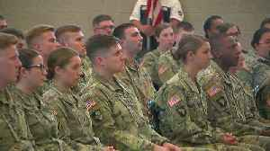 Soldiers Return Home After Nearly A Year Overseas [Video]