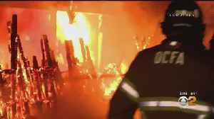Fountain Valley Residents Forced To Flee Huge Carport Fire [Video]