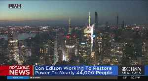 Mayor Bill de Blasio On Manhattan Power Outage [Video]