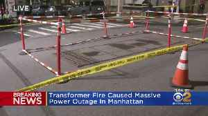 News video: Manhattan Power Outage Blamed On Transformer Fire