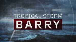 Barry Makes Landfall As Tropical Storm [Video]