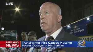 NYPD Commissioner Addresses NYC Power Outage [Video]