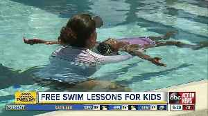 Bay area YMCAs offer free water safety lessons for kids [Video]