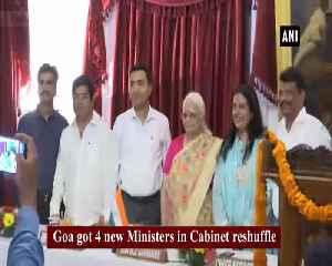 3 former Congress MLAs who joined BJP take oath as Ministers [Video]