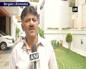 News video: Congress is ready to settle demands MLAs will save govt says DK Shivakumar