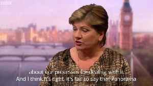 Emily Thornberry: No-one can pretend there isn't an anti-Semitism problem in Labour