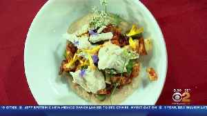 Cooking Segment: Crab And Summer Bean Salad With Housemade Cashew 'Butter' [Video]