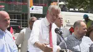 Web Extra: Mayor Bill De Blasio, Officials Discuss NYC Blackout [Video]