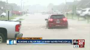 Flooding is major concern as Tropical Depression Barry moves through Louisiana [Video]