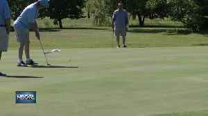 Special Olympics compete in Northern State Golf Tournament [Video]