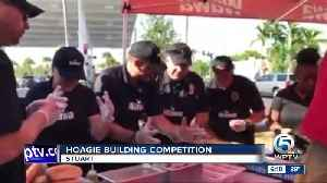 Hoagie building competition held in Stuart [Video]