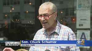 Sen. Schumer Calls On Feds To Probe Blackout [Video]
