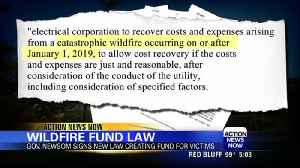 AB 1054 creates wildfire utility fund [Video]