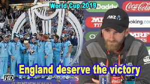 World Cup 2019 | England deserve the victory: Williamson [Video]