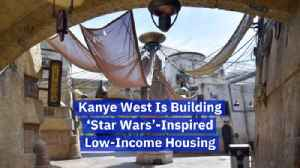 Kanye West Gets Inspired By Star Wars [Video]