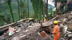 News video: Eight Including Six Army Personnel Dead In Himachal Building Collapse