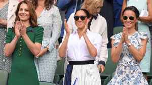 Serena Williams thanks 'great friend' Meghan, Duchess of Sussex, for support during Wimbledon [Video]