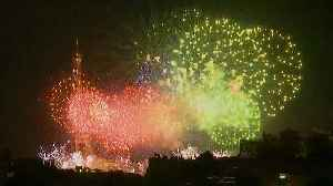 Bastille Day Fireworks light up the skies of the French capital [Video]