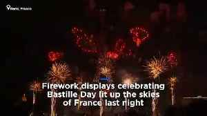Watch back: Bastille Day fireworks in Paris [Video]