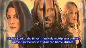 Amazon Announces 'Lord of the Rings' Online Game [Video]