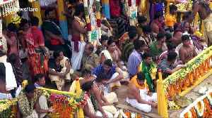 Millions attend world's largest chariot festival in India [Video]