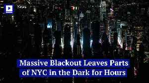 Massive Blackout Leaves Parts of NYC in the Dark for Hours [Video]