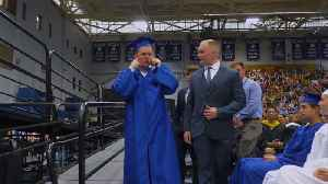Graduation Crowd Silent For Student With Autism [Video]
