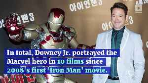 Robert Downey Jr. Looks Back on Playing Iron Man [Video]