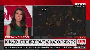 Gov. Andrew Cuomo blasts NYC Mayor Bill de Blasio for being absent during blackout [Video]