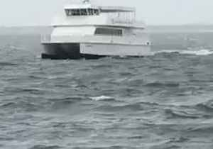 Pensacola Ferries Continue After Barry Makes Landfall to the West [Video]