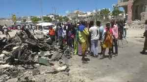 News video: Somali hotel attack kills at least 26 people
